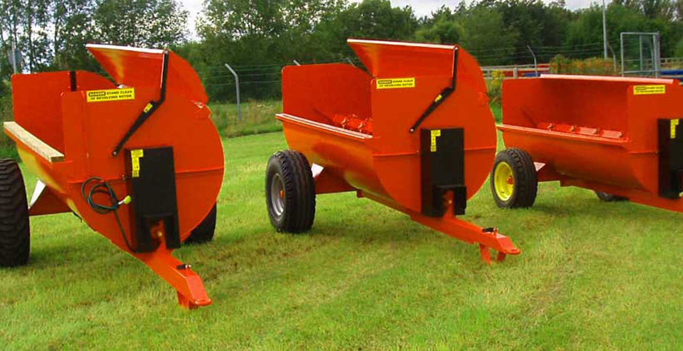 Bridgeway Muck Spreaders