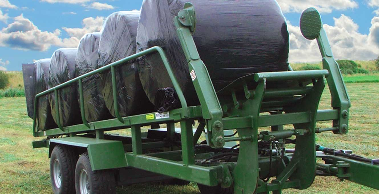 Bridgeway's patented Bale Carrier.